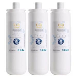 Kit Com 3 Refil C+3 para Filtro Purificador De Água Ibbl Frete grátis Prime