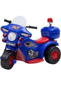 Mini Moto Elétrica Infantil Azul - brink+ R$249