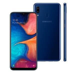 Smartphone Samsung A205 Galaxy A20 Azul 32 GB R$804