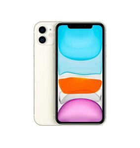 iPhone 11 64 GB Touch ID Tela Retina 6 Polegadas Câmera Dupla 12MP Apple - Branco | R$5.455