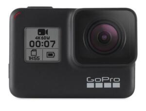 GoPro Hero 7 Black 12MP, À prova de Água, Wi-Fi ,Bluetooth, Gravação 4K - R$1650