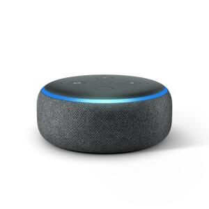 Echo Dot Amazon Smart Speaker Preta Alexa 3ª Geração | R$224