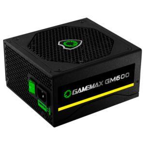Fonte Gamer Gamemax GM600 80 Plus Bronze 600W | R$236