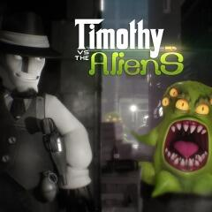 (PS4) Jogo: Timothy vs the Aliens - R$12