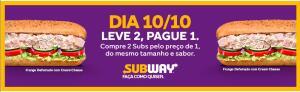 [RJ] Compre dois sanduíches e pague 1