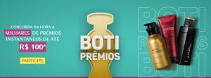 Promoção Boticário: Concorra a Boti Prêmios