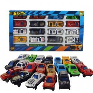 [15,74 AME +1x Cartão Americanas] Carro Coleção De Plástico Roda Livre 20 Peças