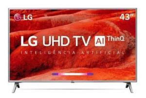 Smart TV 4K LG LED 43 43UM7500 | R$1.549