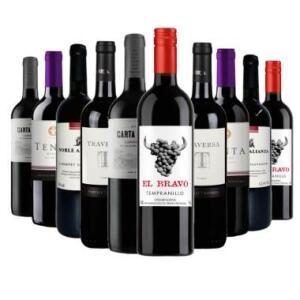 Kit 10 Vinhos Por 199 reais