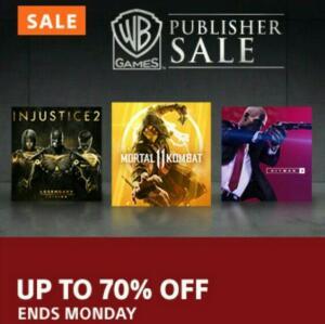PSN - Promoção Warner Games