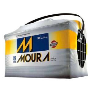Bateria Automotiva Moura 60AH M60GD MFA Preto | R$272