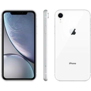 "(APP) iPhone XR 64GB Branco Tela 6.1"" iOS 12 4G 12MP - Apple"