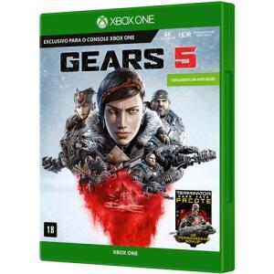 [CC Sub] Jogo Gears 5 Xbox One + Chaveiro | R$116