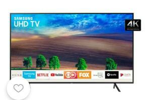 "Smart TV LED 65"" UHD 4K Samsung 2018 HDR Premium| R$3.505"
