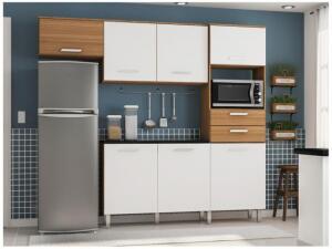 Kit Cozinha Poliman Móveis Lia - Nicho para Micro-ondas R$494