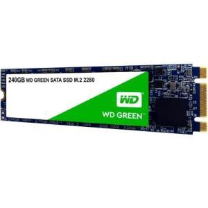SSD WD Green, 240GB, M.2, Leitura 545MB/s - WDS240G2G0B | R$190
