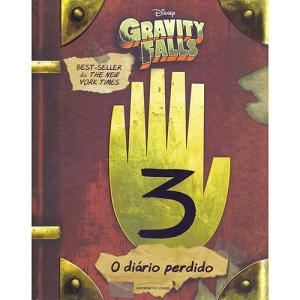 Livro - O Diário Perdido de Gravity Falls | R$20