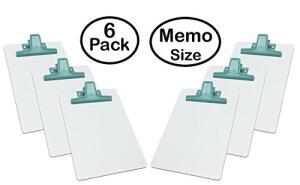 [Amazon Prime] Prancheta MDF (6 Unidades) Branco A5 (16 cm X 23 cm) Acrimet