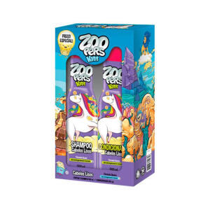 Kit Zoopers Kids Shampoo + Condicionador LisosDeR$ 23,10 por R$ 10,99