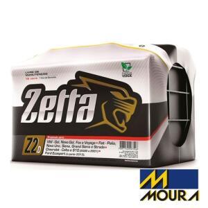 Bateria Automotiva Moura Zetta Z60d 60 Ah Direita Livre De Manutenção - R$255