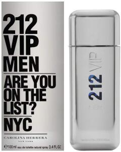 Perfume 212 Vip Men 100ml Edt Masculino Carolina Herrera R$ 290