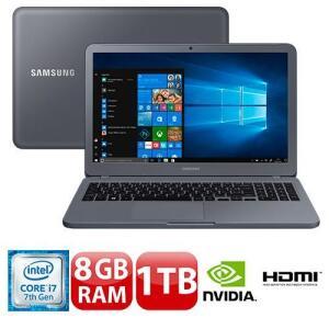 Notebook Samsung Expert Intel i7-7500U