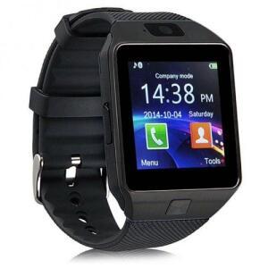 Relógio Celular Smart Watch Dz09 Chip Câmera Som Memóriam | R$40