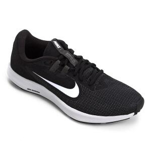 Tênis Nike Downshifter 9 Feminino - Preto e Branco | R$127