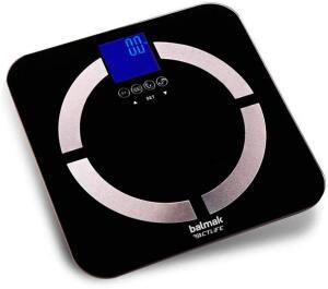 Balança digital balmak com analisador corporal slimtop180 | R$68