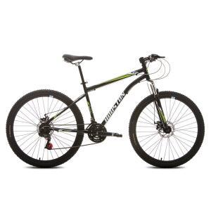 Bicicleta Aro 27,5 Houston Netuno com 21 Marchas – Preta Cadilac R$ 499