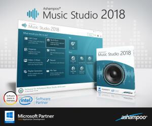 Ashampoo Music Studio 2018 [for PC]