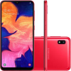 Smartphone Samsung Galaxy A10 32GB R$ 565