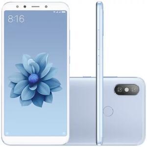 Smartphone Xiaomi Redmi MI A2 64GB Versão Global Desbloqueado Azul