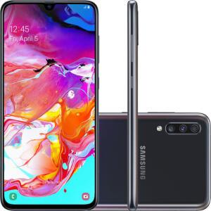 Smartphone Samsung Galaxy A70 128GB - R$1.559