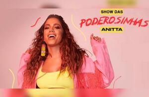 Anitta - Show das Poderosinhas no Credicard Hall - SP