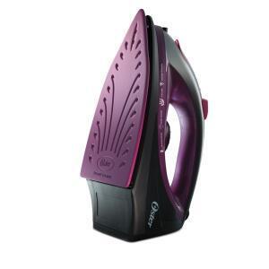 Ferro a Vapor Oster 5956 com Antiaderente de Cerâmica - Preto e Roxo  | R$68