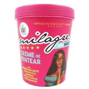 Creme De Pentear Lola Cosmetics Milagre - 450g | R$21