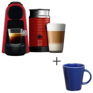 CAFETEIRA + AEROCCINO + 14 CAPSULAS + 4 CANECAS
