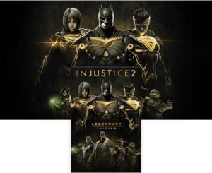 Injustice 2 - Edição Lendária( Xbox One) | R$80