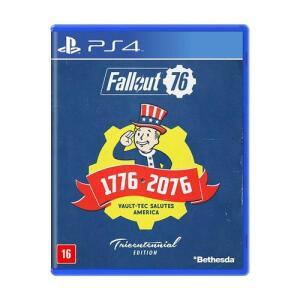 Game Jogo Fallout 76 (edição Tricentenária) - Ps4