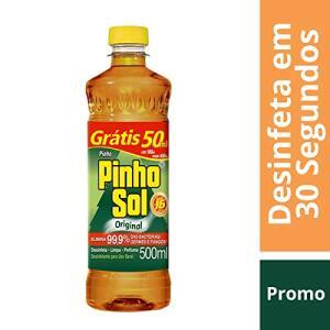 (PRIME) Desinfetante Pinho Sol Original 550ml R$ 2,66