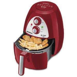 Fritadeira Sem Óleo Air Fryer Mondial Inox Red Premium AF-14