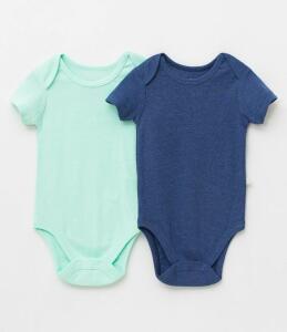 Kit com 2 Bodies Infantis - Tam 3 a  6 meses
