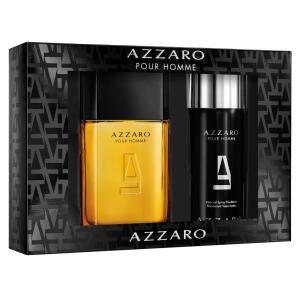 Kit Perfume Masculino Azzaro Pour Homme Eau de Toilette 100ml +1 Desodorante 150ml - Incolor R$ 239