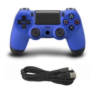 Game Controller Console Usb Conexão Com Fio Gamepad Para Sony Ps4