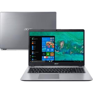 "Notebook Acer Core I5 8265U 16GB (Geforce MX130 com 2GB) 1TB Tela LED 15,6"" HD W10 Prata - A515-52G-57NL"