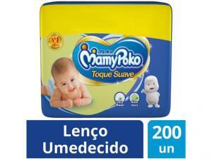 [Clube da Lu] Lenço Umedecido MamyPoko Toque Suave - 200 Unidades R$ 25