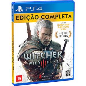 (Primeira Compra) Game The Witcher 3 Wild Hunt Edição Completa - PS4 (APP)