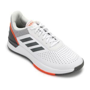 Tênis Adidas Courtsmash Masculino - Branco e Cinza | APENAS TAMANHO 43