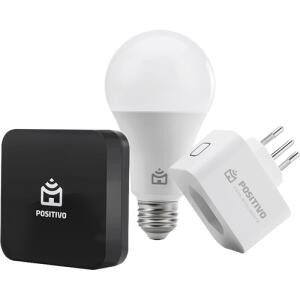 [APP] Kit Casa Conectada (Smart Lampada Wifi + Smart Plug Wifi + Controle IR Universal) | R$246